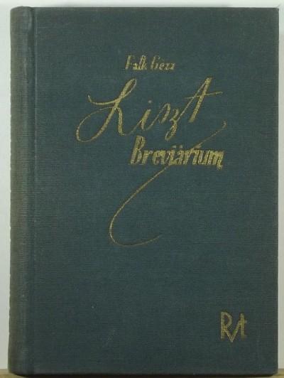 Falk Géza - Liszt Breviárium