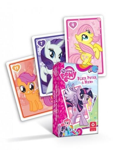 - My Little Pony - MINI Fekete Péter és memória kártya