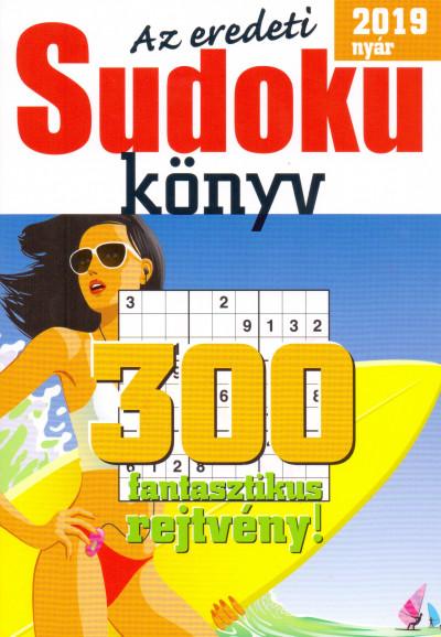 - Az eredeti Sudoku könyv - 2019 nyár