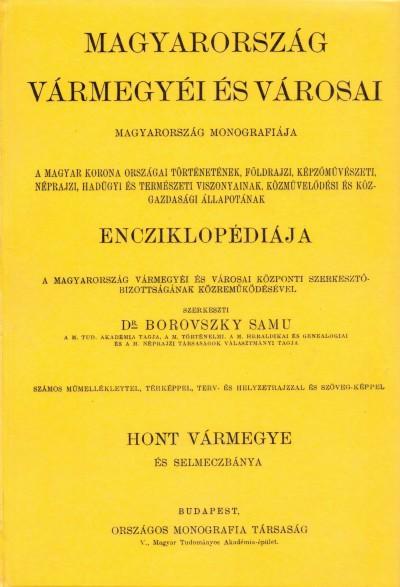 Dr. Borovszky Samu  (Szerk.) - Magyarország vármegyéi és városai
