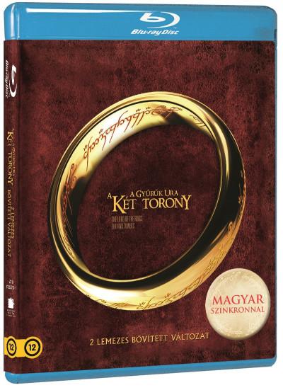 Peter Jackson - A Gyűrűk Ura: A két torony - bővített kiadás - Blu-ray