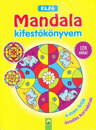 - Első Mandala kifestőkönyvem