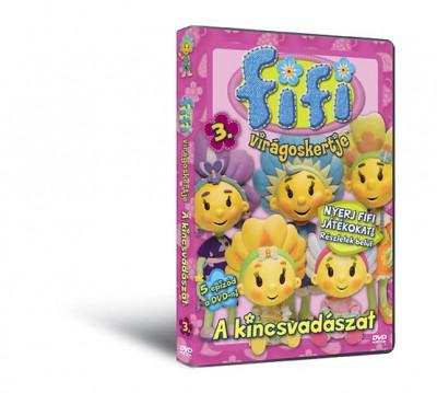 - Fifi virágoskertje 3. - A kincsvadászat DVD