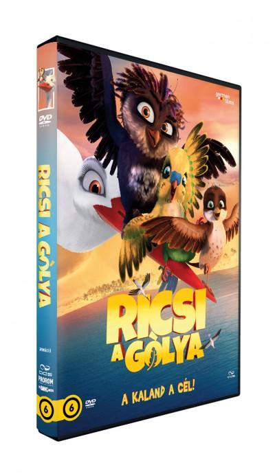 Toby Genkel - Reza Memari - Ricsi a gólya - DVD