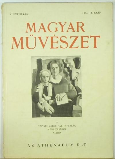 - Magyar Művészet 1934 10. szám