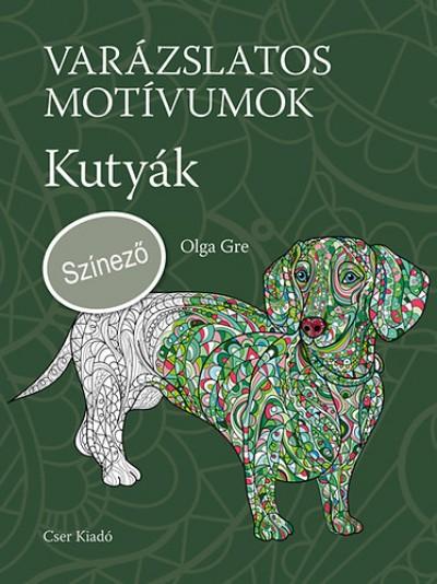 Olga Gre - Varázslatos motívumok - Színező - Kutyák