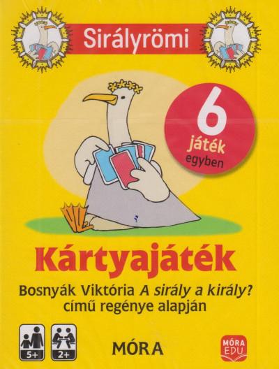 Bosnyák Viktória - Sirályrömi kártyajáték + rejtvényfüzet