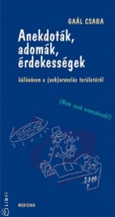 Gaál Csaba - Anekdoták, adomák, érdekességek