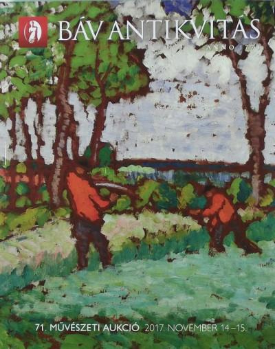 - BÁV antikvitás - 71. művészeti aukció