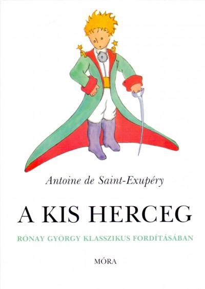 Antoine De Saint-Exupéry - A kis herceg - kartonált