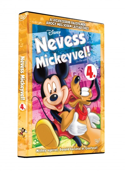 Rajzfilmfigurák - Nevess Mickeyvel! 4. - DVD