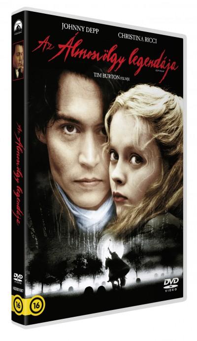 Tim Burton - Az Álmosvölgy legendája - DVD