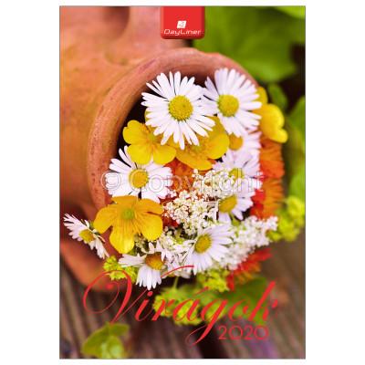 - Dayliner falinaptár - Virágok B4 2020