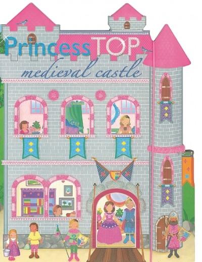 - Princess TOP - Medieval castle (szürke)