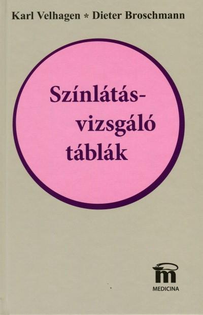 Karl Velhagen - Színlátásvizsgáló táblák