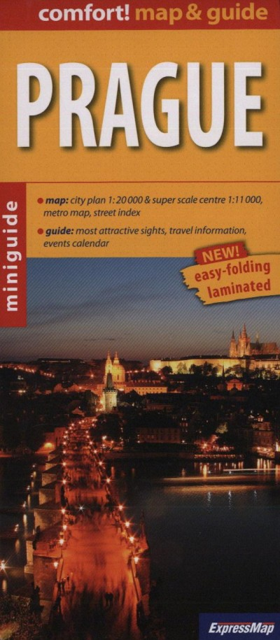 - Prague - 1:20 000 - Map & Guide
