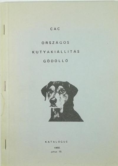 - CAC Országos kutyakiállítás Gödöllő