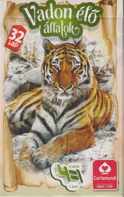 - Vadon élő állatok kártya