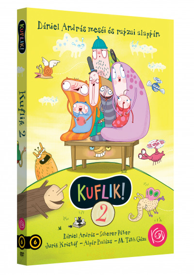 Jurik Kristóf - M. Tóth Géza - Kuflik 2. - DVD