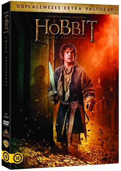 Peter Jackson - A hobbit: Smaug pusztasága - 2 lemezes változat - DVD