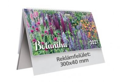 - Botanika álló képes asztali naptár - 2021