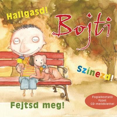 Gellén Sára - Bojti - Hallgasd! Színezd! Fejtsd meg!