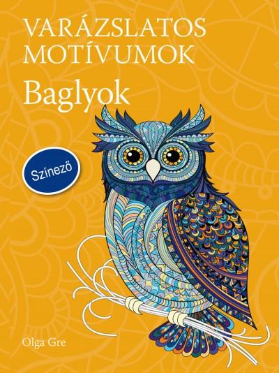 Olga Gre - Varázslatos motívumok - Színező - Baglyok