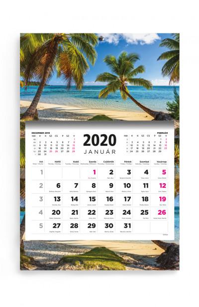 - Beach - speditőr naptár - 2020
