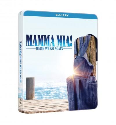 Ol Parker - Mamma Mia! Sose hagyjuk abba - limitált, fémdobozos változat - Ultra HD + Blu-ray