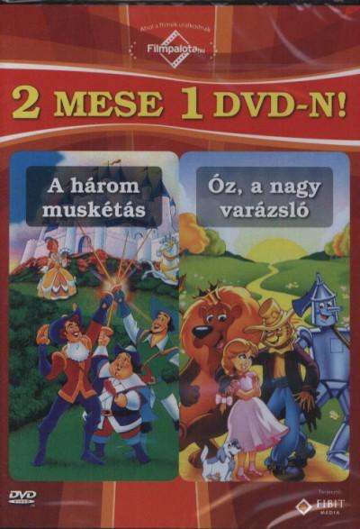 - A három muskétás  / Óz, a nagy varázsló - DVD