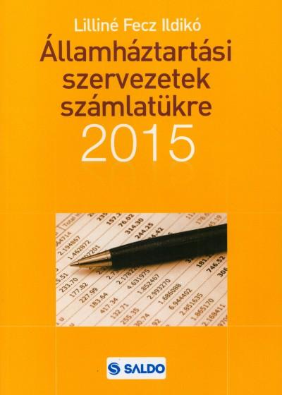 Lilliné Fecz Ildikó - Államháztartási szervezetek számlatükre 2015