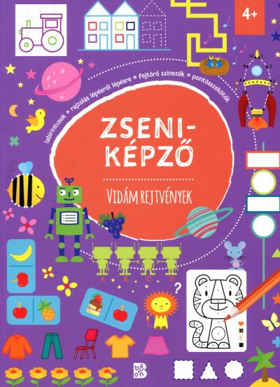 Tóth Eszter  (Szerk.) - Zseniképző - Vidám rejtvények
