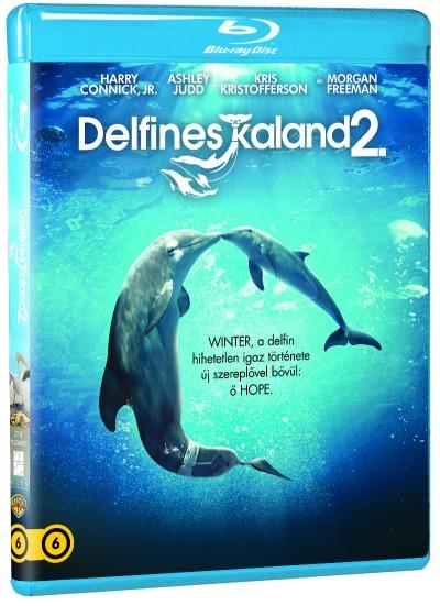 Charles Martin Smith - Delfines kaland 2. - Blu-ray