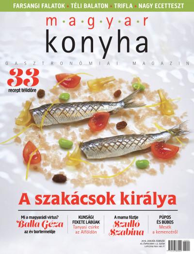 - Magyar Konyha - 2019. január-február (43. évfolyam 1-2. szám)