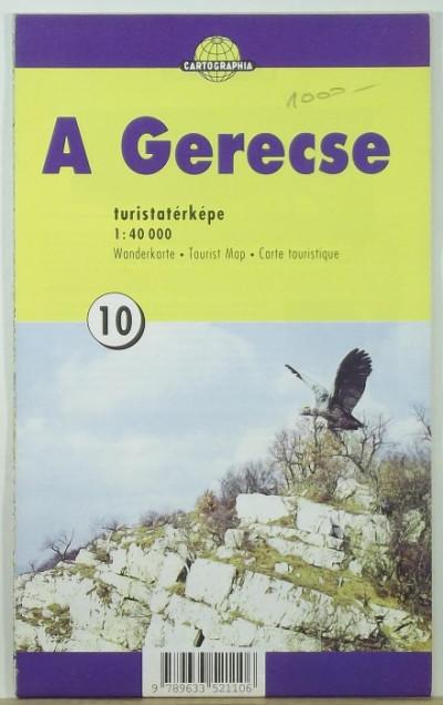 - A Gerecse turistatérképe
