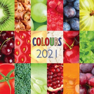 - Colours - Lemeznaptár - 2021