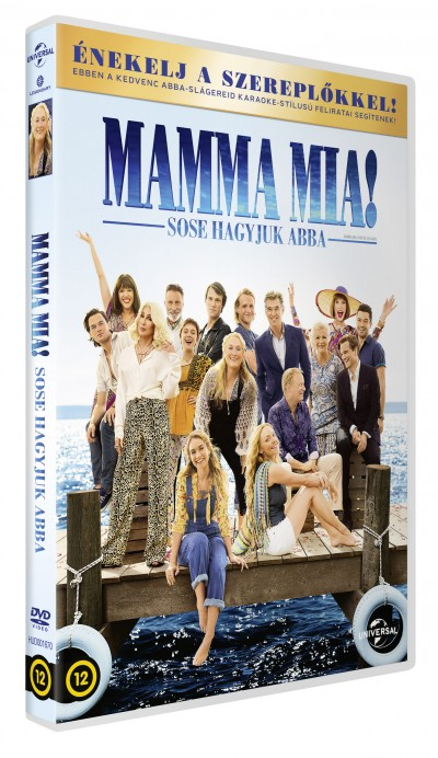 Ol Parker - Mamma Mia! Sose hagyjuk abba - DVD