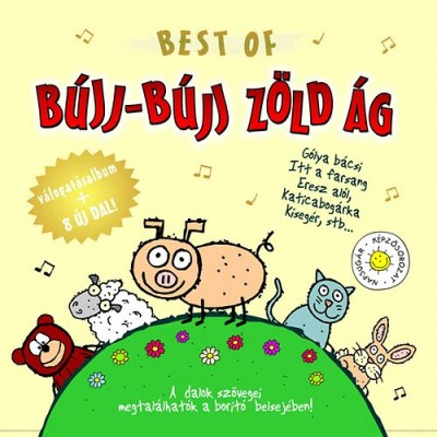 - Best Of bújj-bújj zöld ág - CD