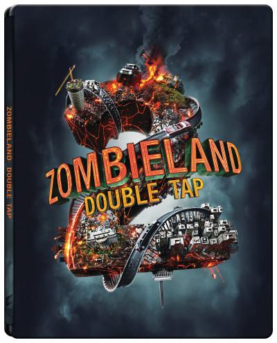 Ruben Fleischer - Zombieland: A második lövés - Steelbook - 4K UltraHD+Blu-ray