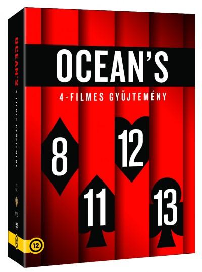 Gary Ross - Steven Soderbergh - Ocean's gyűjtemény - 4 DVD