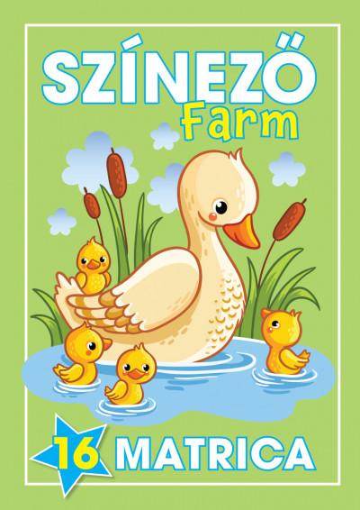 Navratyil Edina  (Szerk.) - Színező - Farm