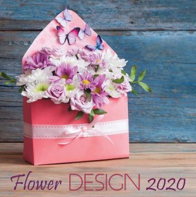 - Flower Design - Lemeznaptár - 2020