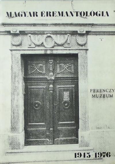- Magyar éremantológia 1945-1976