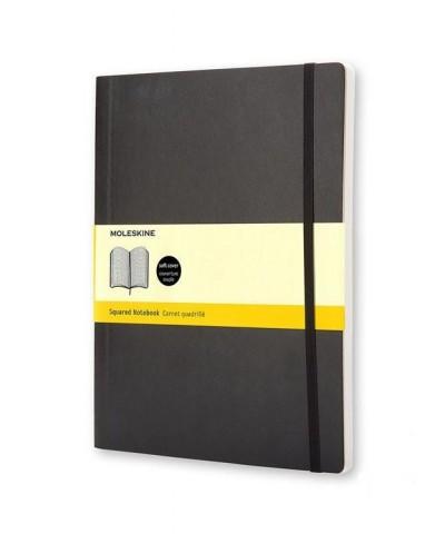 """- Moleskine notesz QP622 puha fekete """"XL"""" kockás"""
