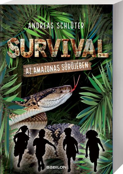 Andreas Schlüter - Survival1. - Az Amazonas sűrűjében