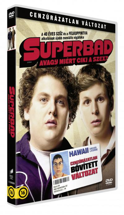 Greg Mottola - Superbad - avagy miért ciki a szex? - DVD