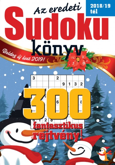 - Az eredeti Sudoku könyv - 2018/19 tél