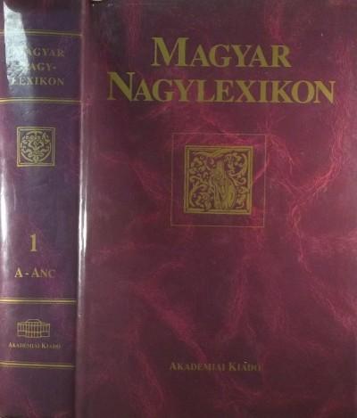 - Magyar Nagylexikon I. kötet