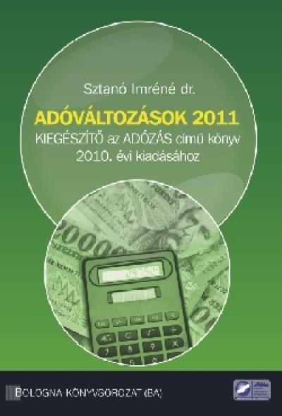Sztanó Imréné - Adóváltozások 2011