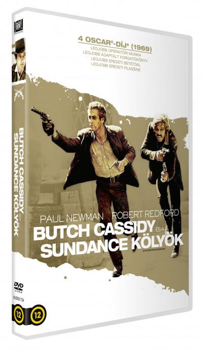 Roy George Hill - Butch Cassidy és a Sundance kölyök - DVD
